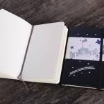 【臺大出版中心 NTU PRESS x MOLESKINE】校門Rocket筆記本。硬殼口袋型。黑