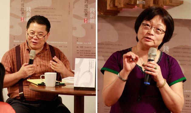 宋家復(左);鍾月岑(右)